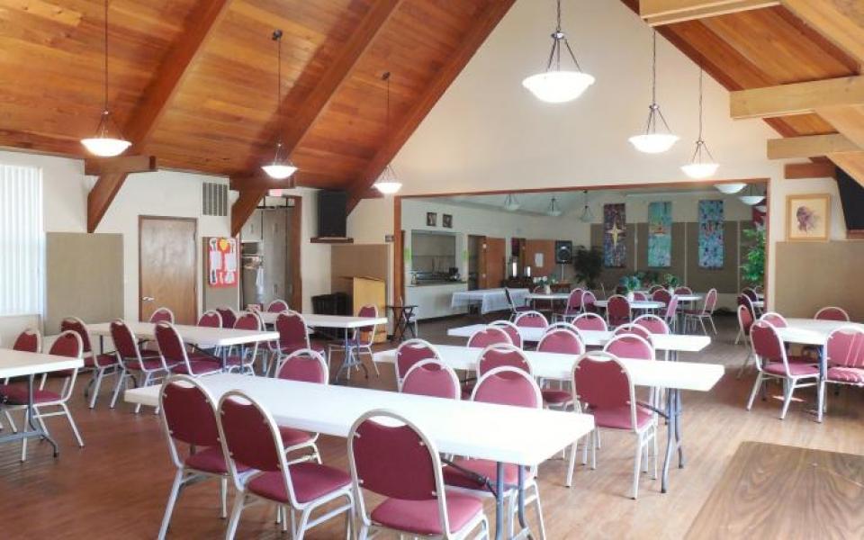 Wedding Reception Fellowship Hall