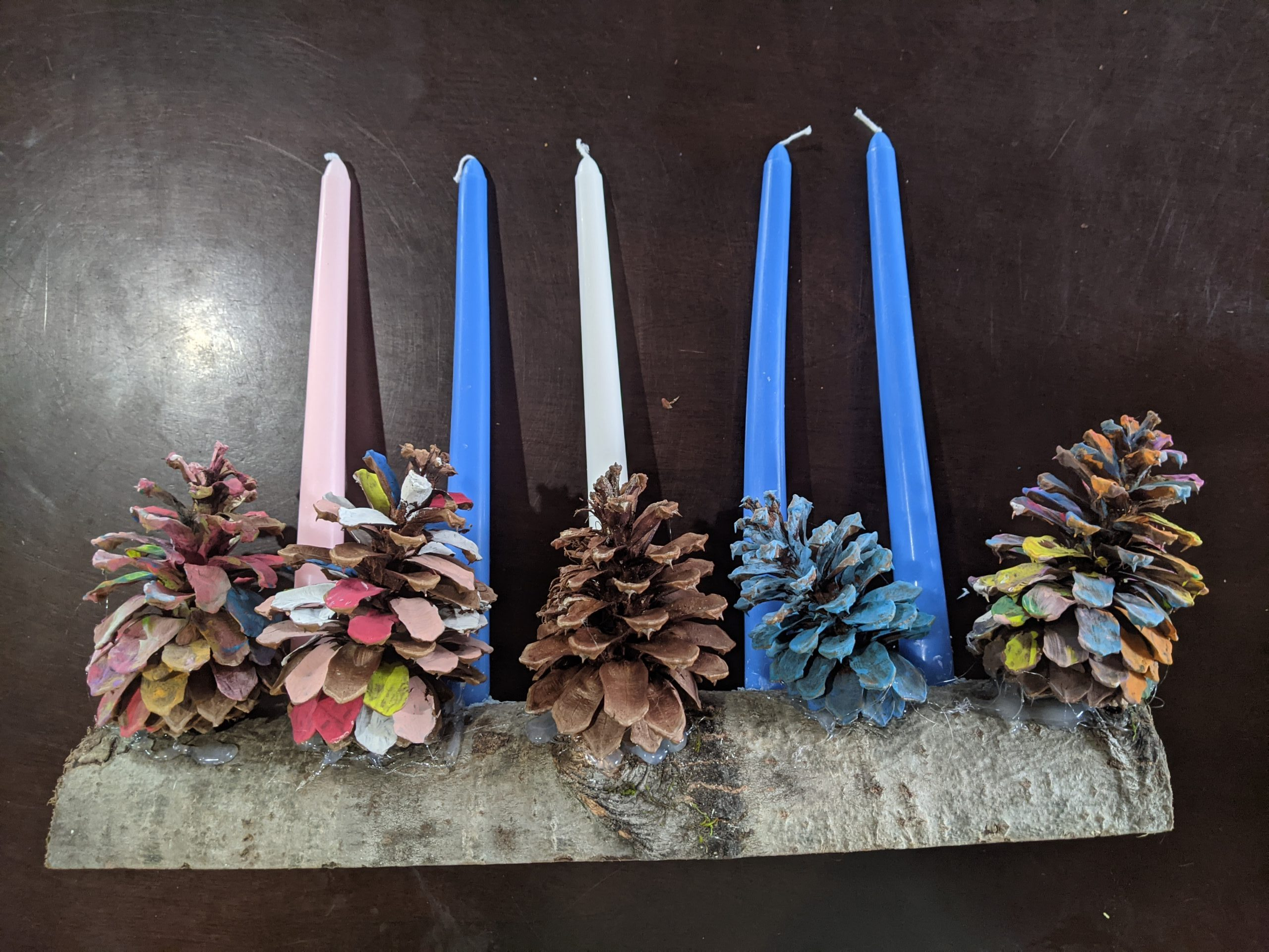2020 Advent Wreath Yule Log Information Instructions Bethany Lutheran Church